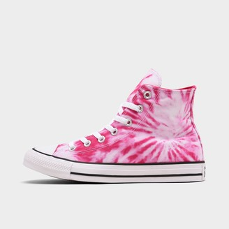 Converse Women's Chuck Taylor All Star Twisted Vacation Tie-Dye High Top Casual Shoes