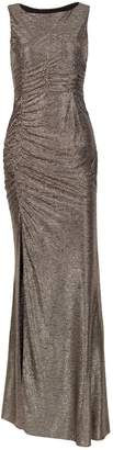 Nissa Long Evening Dress With Shiny Effect