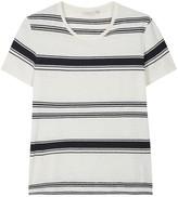 J.lindeberg Striped Cotton Blend T-shirt