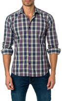 Jared Lang Plaid Semi-Fitted Shirt