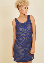 Known Intricately Mini Dress in M