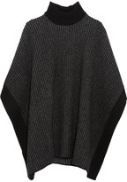 Tomas Maier Wool Turtleneck Poncho
