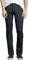 Hudson Blake Vault Slim-Straight Jeans, Dark Gray