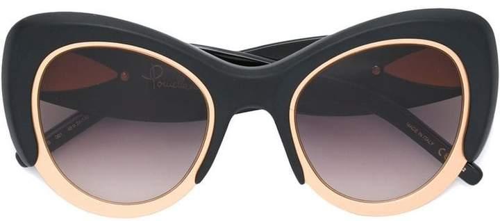 Pomellato Eyewear oversized cat eye frame sunglasses