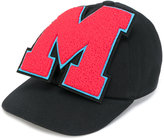 MSGM oversized logo patch cap