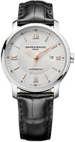 Baume & Mercier Men's Swiss Automatic Classima Black Alligator Leather Strap Watch 42mm M0A10075
