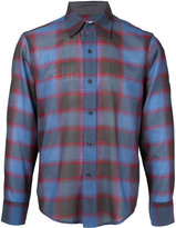Facetasm plaid longsleeve shirt - men - Nylon/Wool - 4