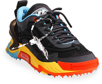 Off-White Men's Odsy 2000 Mix-Media Trainer Chunky Sneakers