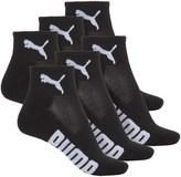 Puma Half-Terry Socks - 6-Pack, Quarter Crew (For Women)
