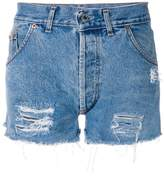 Chiara Ferragni high waisted shorts