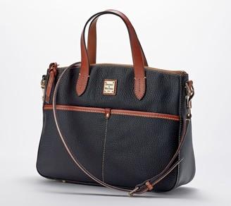Dooney & Bourke Pebble Leather Small Daniela Tote