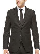 Jf J.Ferrar JF Slim-Fit Black Box Check Suit Jacket