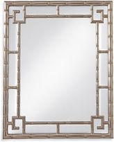 Bassett Mirror Cora Wall Mirror, Silver Leaf