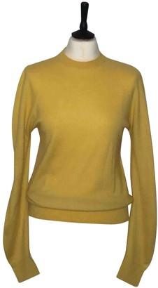 Celine Yellow Cashmere Knitwear