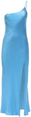 Bec & Bridge Frederic One Shoulder Satin Midi Dress