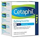 Cetaphil Purifying Facial Bar for All Skin Types, 9 Ounce, 3 bars per pack