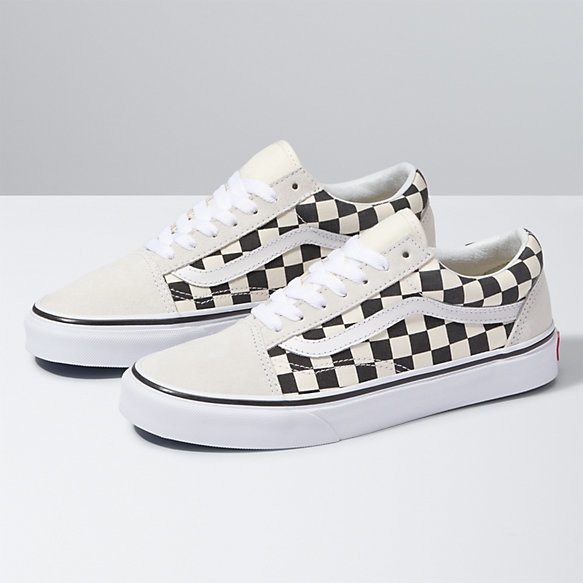 vans checkerboard old skool femme