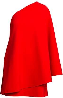 Valentino Rosso Capsule One-Shoulder Mini Dress