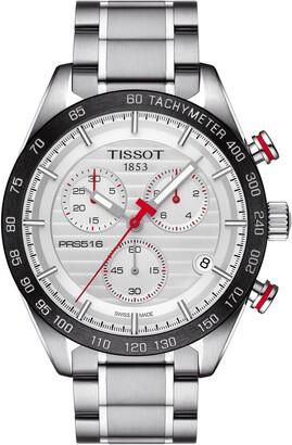 Tissot PRS516 Chronograph Bracelet Watch, 42mm