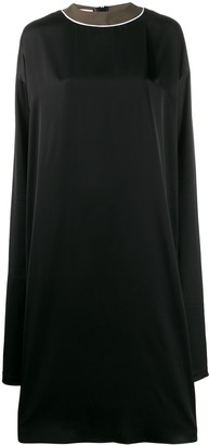 Plan C Long Shift Dress