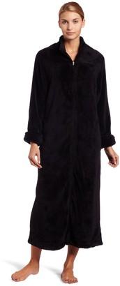 Casual Moments Womens 52 Inch Breakaway Zip Robe