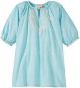 Pink Chicken Ava Dress (Toddler/Kid) - Sky Blue-3 Years