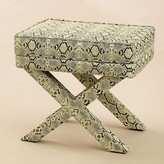 The Well Appointed House Faux Python X Design Bench-
