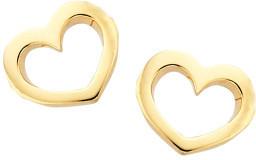 Karen Walker Mini Heart Studs