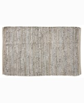 """Thumbnail for your product : Home Weavers Avalon Leather Accent 24"""" x 36"""" Rug Bedding"""