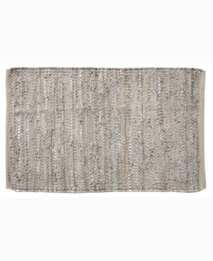 """Home Weavers Avalon Leather Accent 24"""" x 36"""" Rug Bedding"""