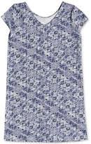 Roxy Geo-Print Cotton Sheath Dress, Little Girls