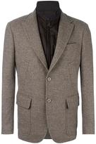 Fay multiple pockets blazer