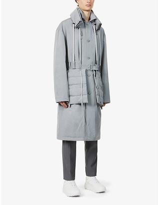 Craig Green Drawstring-hood dropped-shoulder shell coat