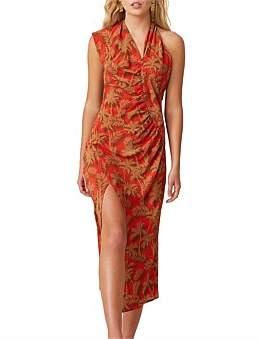 Bec & Bridge Bec + Bridge Shady Palm Aysm Midi Dress