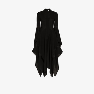 J.W.Anderson Neck tie flared dress