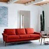 "west elm Leon Wood Frame Sofa (82"")"