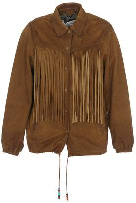 Golden Goose Ayumi Fringed Jacket