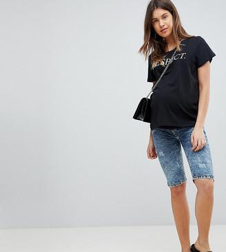 Supermom Maternity Denim Shorts