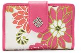 Croft & Barrow Abbey Indexer RFID-Blocking Floral Medallion Wallet