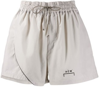 A-Cold-Wall* relaxed-fit logo track shorts