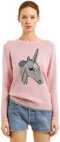 Coach Unicorn Intarsia Wool & Cashmere Sweater