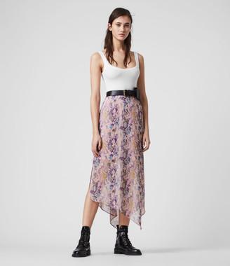 AllSaints Rhea Masala Skirt