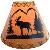 """Reel Lamps 14"""" Diameter Moose Shade"""