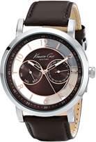 Kenneth Cole New York Kenneth Cole Men's Dress Sport KC8080 Leather Analog Quartz Watch