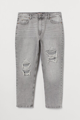 H&M H&M+ Straight High Ankle Jeans