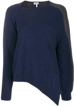 Loewe asymmetric two-tone jumper
