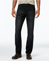 INC International Concepts Men's Gusto Slim-Fit Black Wash Jeans, Only at Macy's