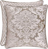 """J Queen New York Bel Air Sand 18"""" Square Decorative Pillow"""
