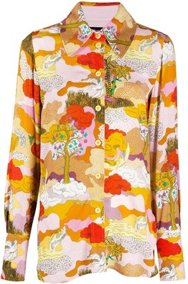 Stine Goya Dreamscape shirt