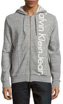 Calvin Klein Vertical Logo Full Zip Hoodie